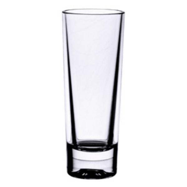 2 Oz Shot Glass, Heavy Base, Polycarbonate, Clear