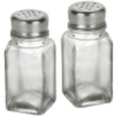 Anchor Hocking 90079 2 oz. Square Salt & Pepper Shaker
