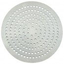 "Winco APZP-20SP 20"" Aluminum Super-Perforated Pizza Disk"