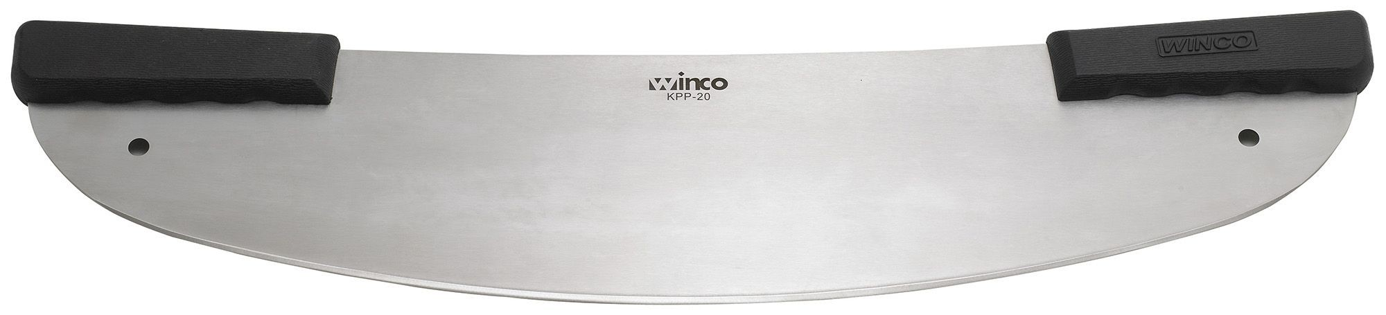 Winco KPP-20 Rocker Pizza Knife with Polypropylene Handle 20""