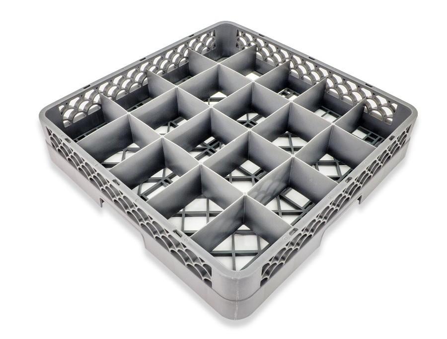 Crestware RBC20 20-Compartment Glass Rack Base