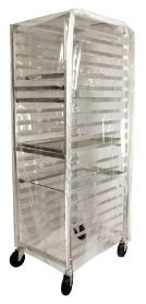 Winco ALRK-20-CV 20-Tier Aluminum Sheet Pan Rack Cover