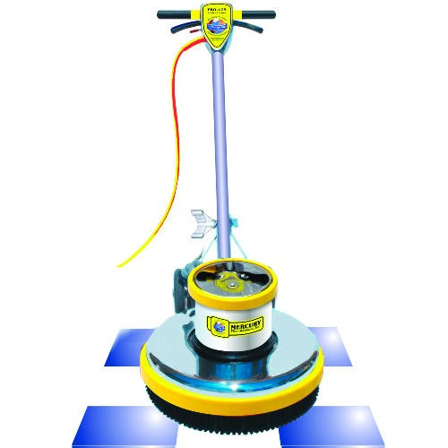 "Mercury PRO-175-21 Floor Machine, 1.5 HP, 175 RPM, 20"" Brush Diameter"