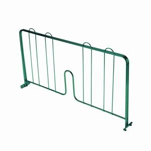 Thunder Group CMDE021 Green Epoxy Coated Pressure-Fit Shelf Divider 21""