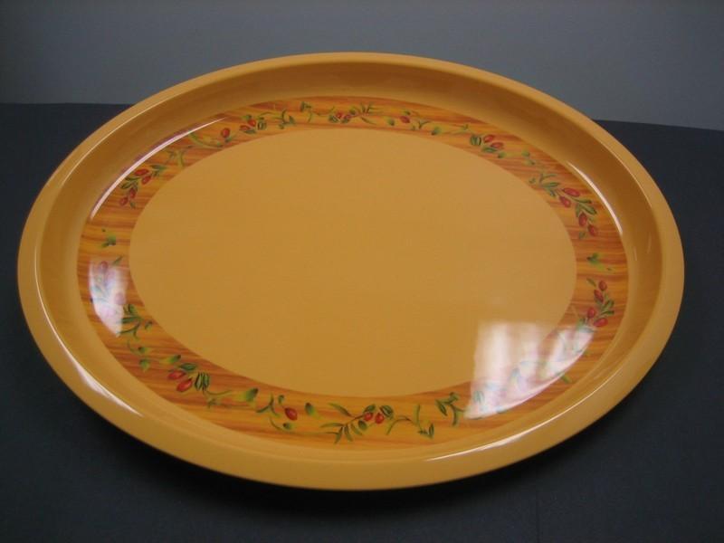 "Yanco OL-3022 Olive 22"" x 18"" Oval Platter"