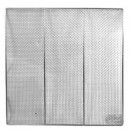 Thunder Group SLRACK0023 Stainless Steel Square Donut Screen 23""