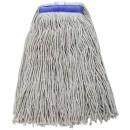 Winco MOP-24WC Premium Mop Head White Yarn, Cut Head 600g, 24 oz.