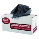 24 X 32 Medium Grade Garbage Can Liner Roll, .5 Mil, White