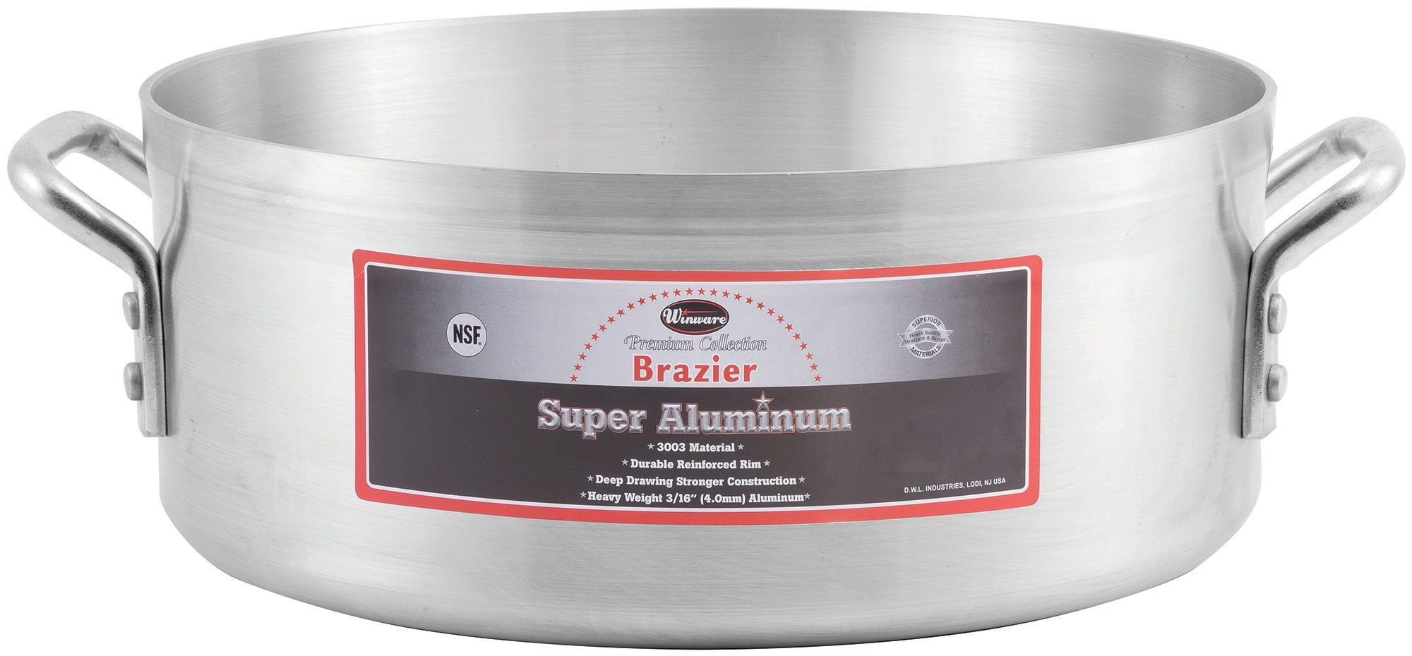 24 Qt Super Aluminum Brazier (4.0 mm)