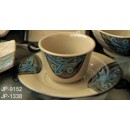 "Yanco jp-9152 Japanese 3.5"" Tea Cup 6 oz."