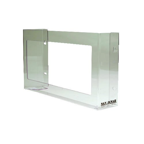 3-Box Glove Dispenser 18 X 3.75 X 10 Plexiglas, Clear