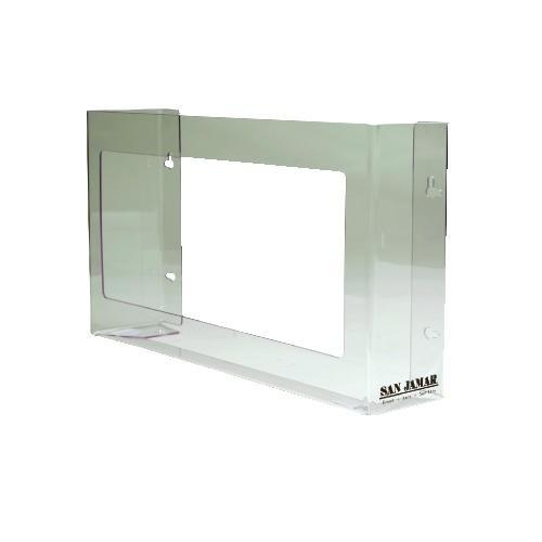 3-Box Glove Dispenser 18 X 3.75 X 10 Plexiglas, Clear