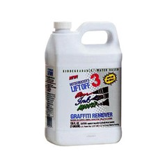 3 Ink Graffiti Remover, 1gal, Bottle