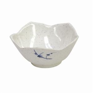 Thunder Group 1036BB Blue Bamboo Melamine Dish, 3 oz.