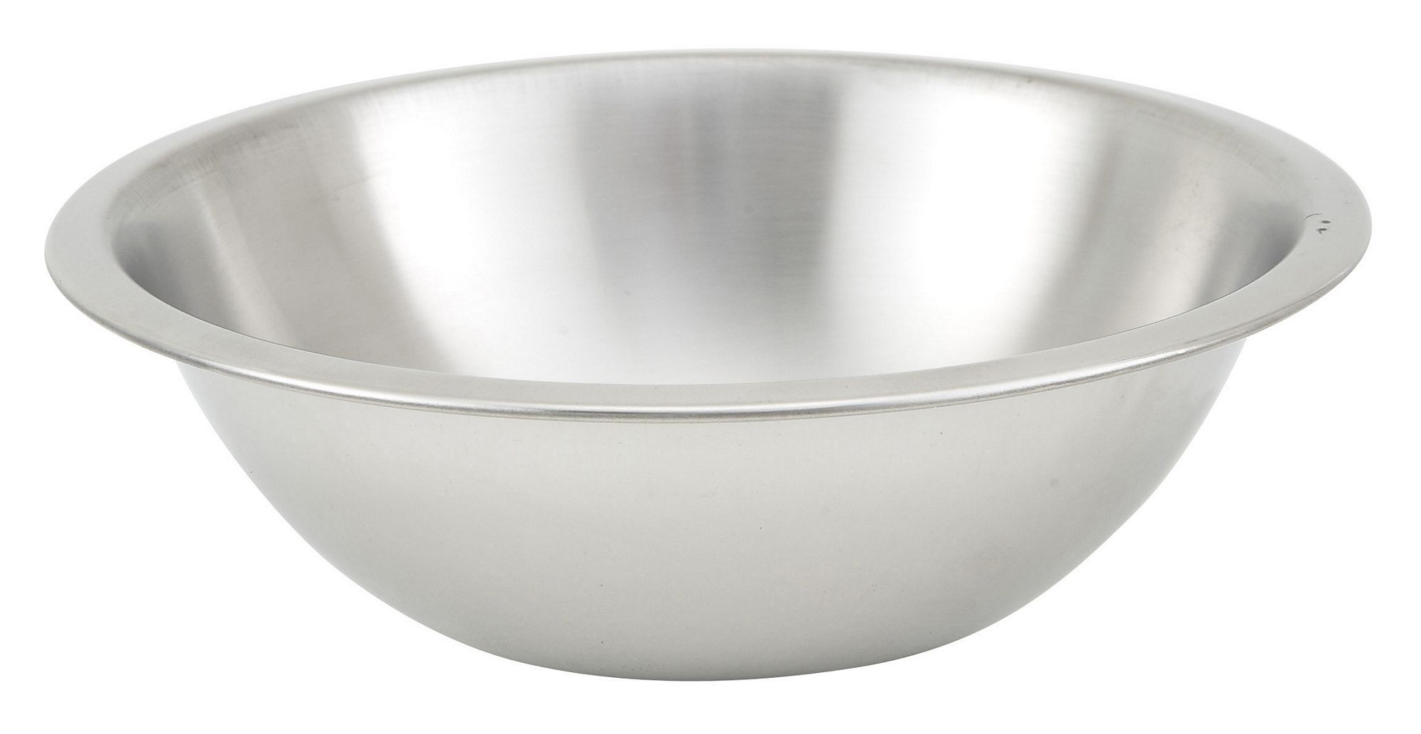 Winco MXHV-300 Heavy Duty Stainless Steel 3 Qt Mixing Bowl