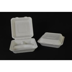 3-Section Clam Shell Container