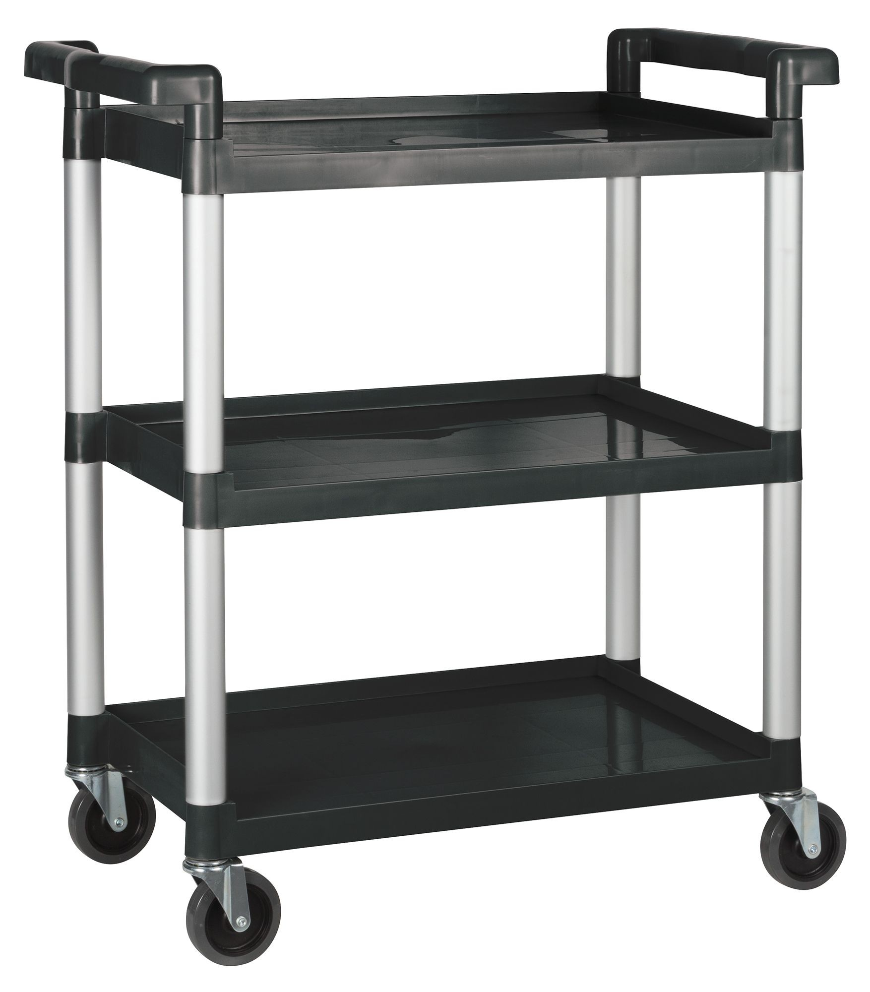 3 Tier Utility Cart Black (Kd)