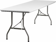 30''W x 96''L Plastic Folding Table