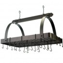 "Old Dutch International 101BZ Oiled Bronze Pot Rack with Grid, 24 Hooks, 30"" x 20 1/2"" x 15 3/4"""