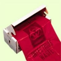 30X36 Ld Hex Flat Bag Lnr 1.3G Red 200/Cs