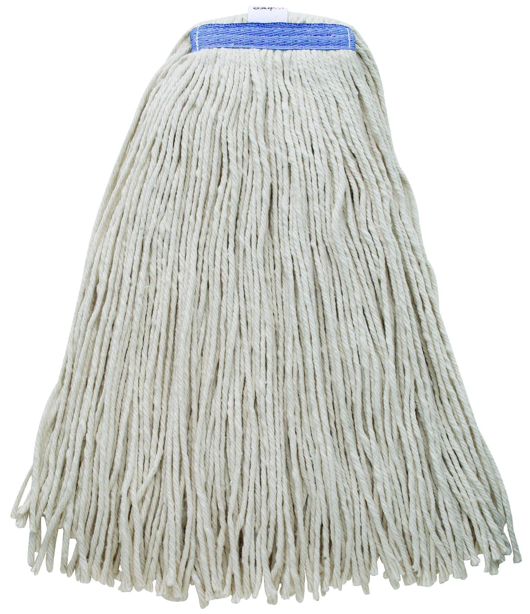 Winco MOPH-32WC Premium White Yarn Mop Head, Cut Head 800g, 32 oz.