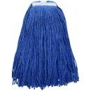 Premium Blue Yarn Mop Head, Cut Head 800g, 32oz.