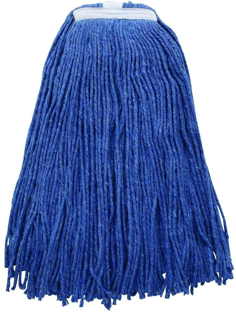 32Oz, 800G Premium Blue Yarn Mop Head, Cut Head