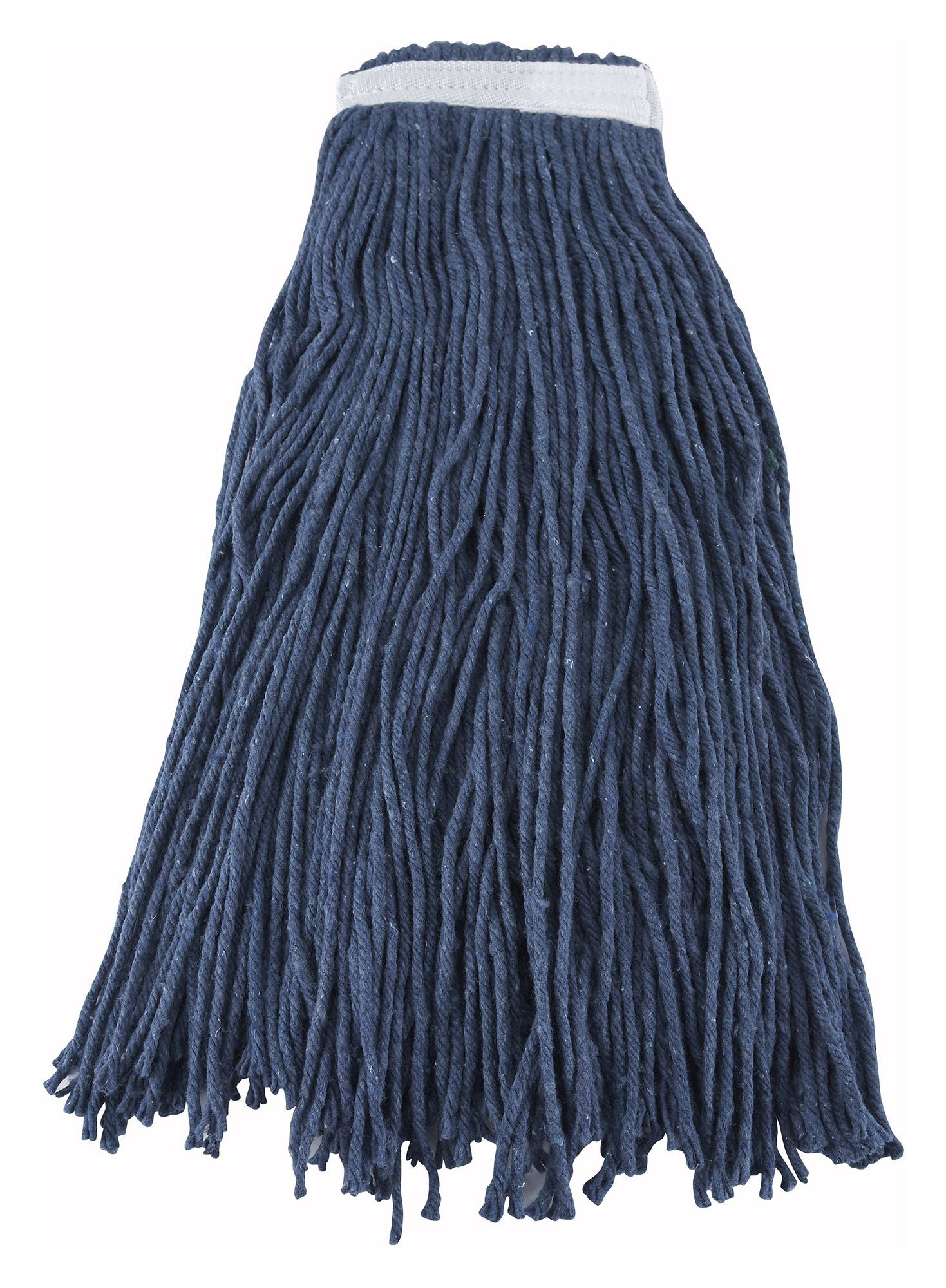 Winco MOP-32C Blue Yarn Mop Head, Cut Head 800g, 32 oz.