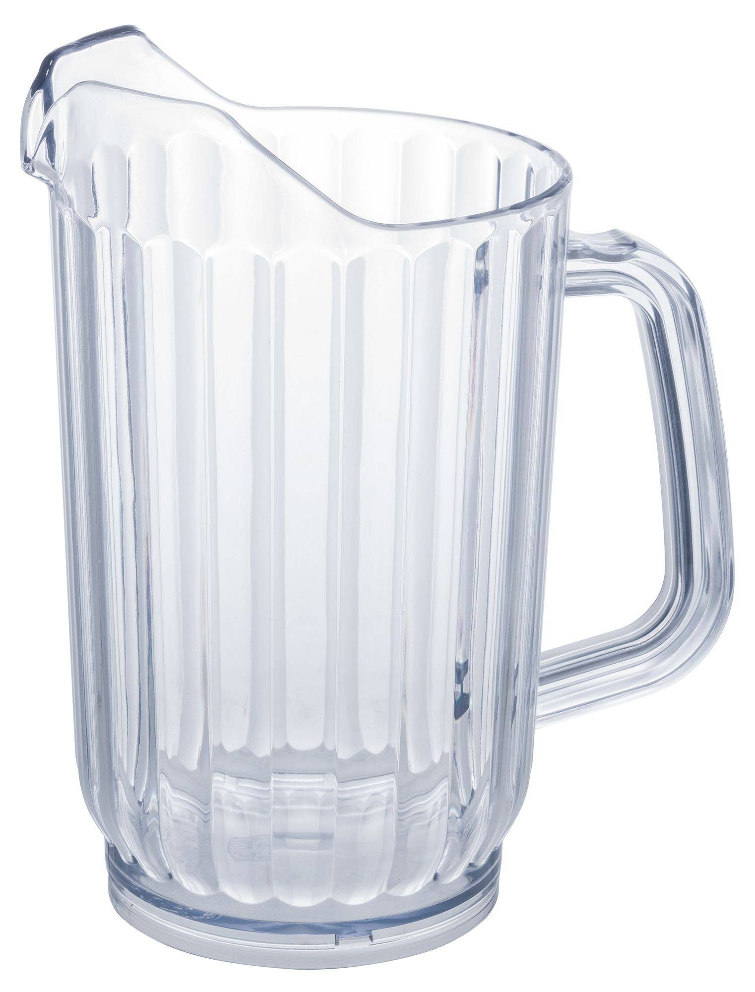 Winco WPS-32 Clear Plastic 32 oz. Water Pitcher