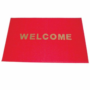 "Thunder Group PLWC002 PVC Welcome Carpet 35"" x 47"""