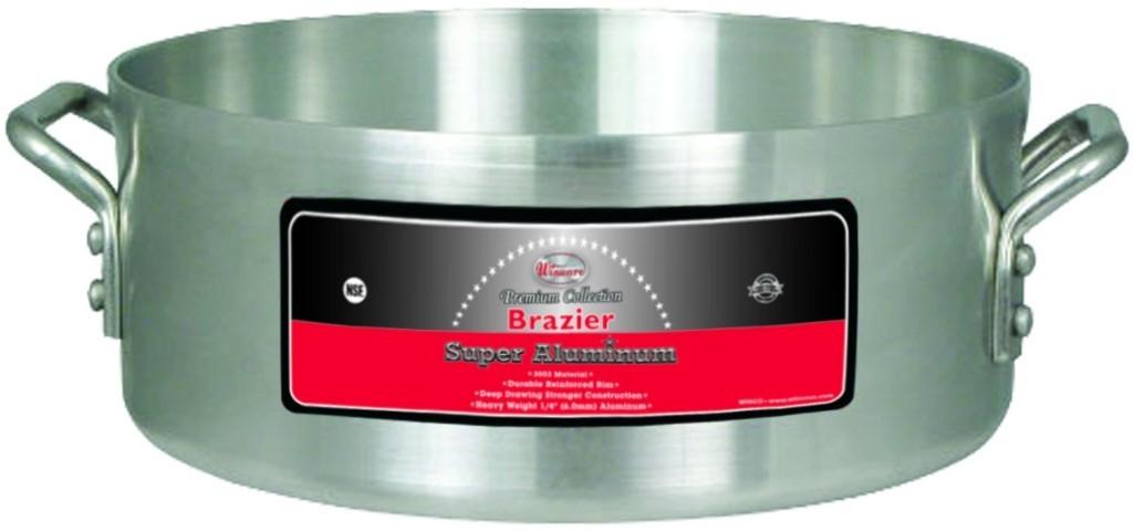35 Qt Super Aluminum Brazier (4.0 mm)