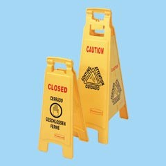 37 'Closed' 4-Sided Floor Sign