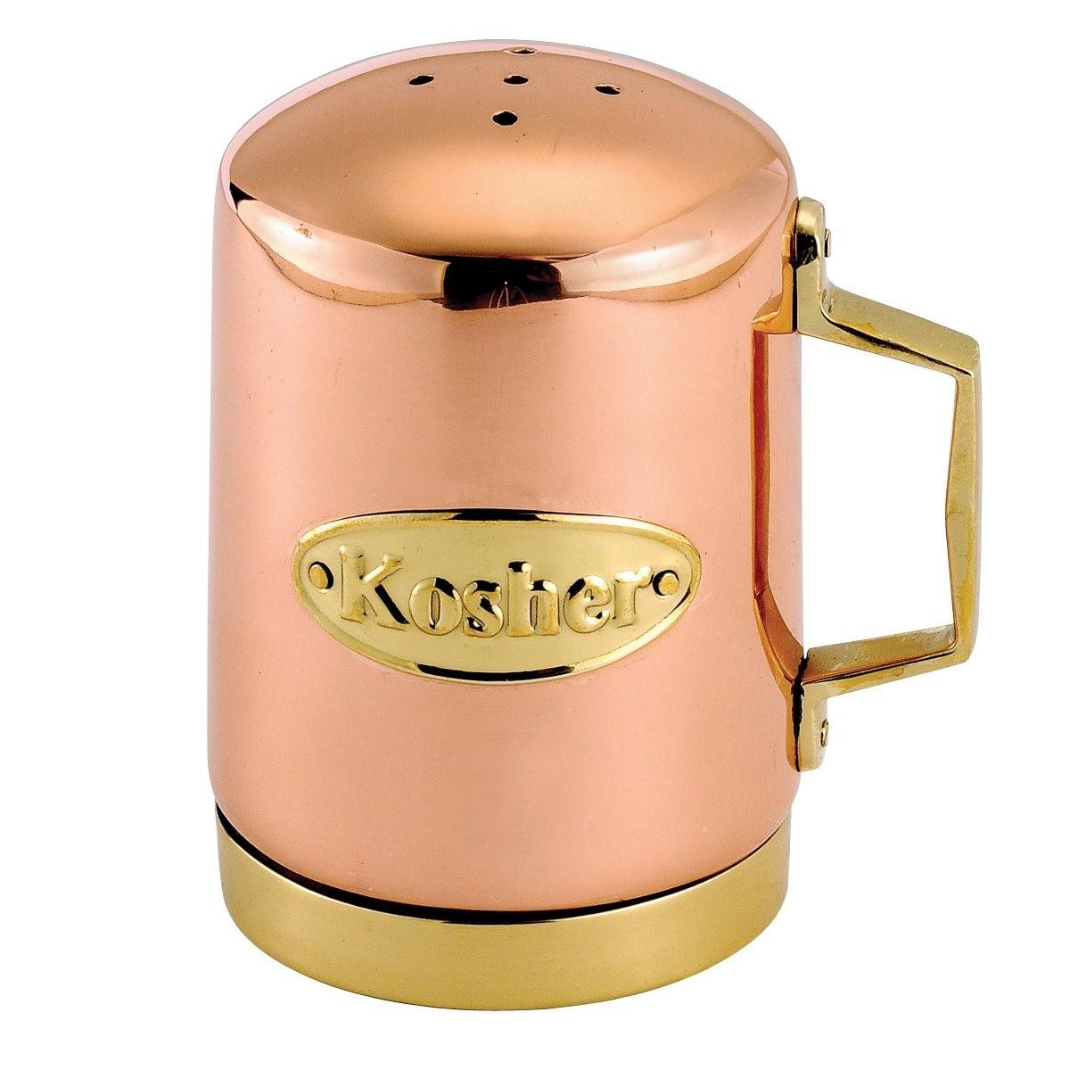 "Old Dutch International 726 Decor Copper Salt Shaker 4 1/4"""