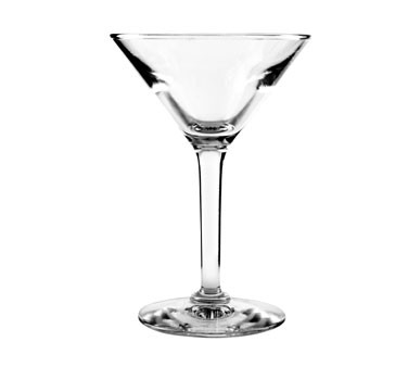 Anchor Hocking H037524 4.5 oz. Ashbury Martini Glass