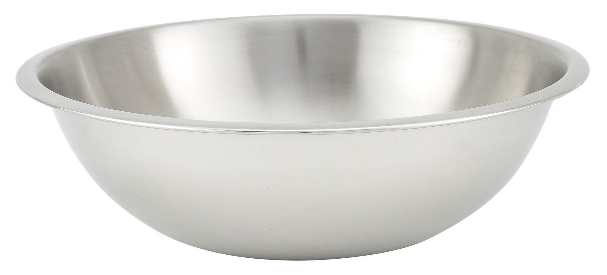 Winco MXHV-400 Heavy Duty Stainless Steel 4 Qt. Mixing Bowl