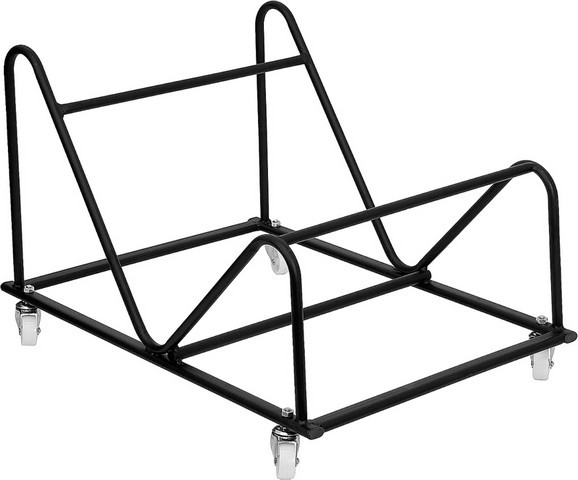 Flash Furniture RUT-188-DOLLY-GG Sled Base Stack Chair Dolly