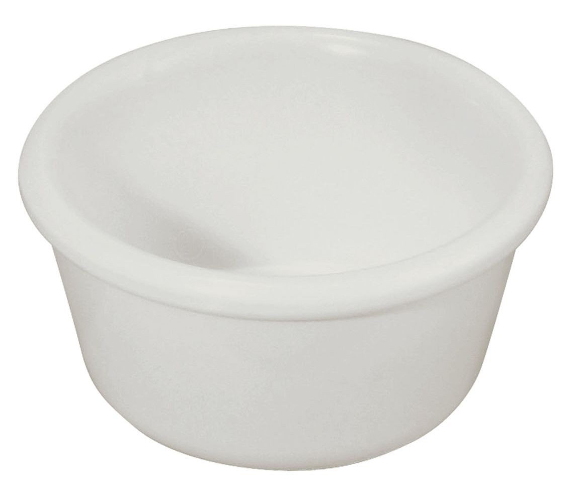 4 oz. Plain Plastic Ramekin (White)