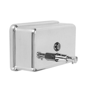 Horizontal Rectangular Soap Dispenser, 40 Oz