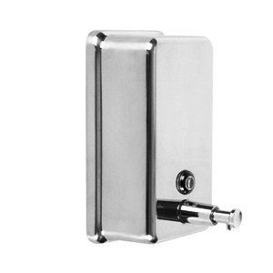 Vertical Rectangular Soap Dispenser, 40 Oz