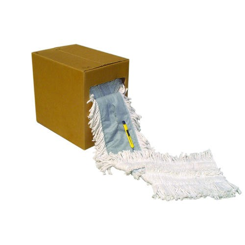 40 ft Cut to Length Dust Mop Roll with Pocket Design