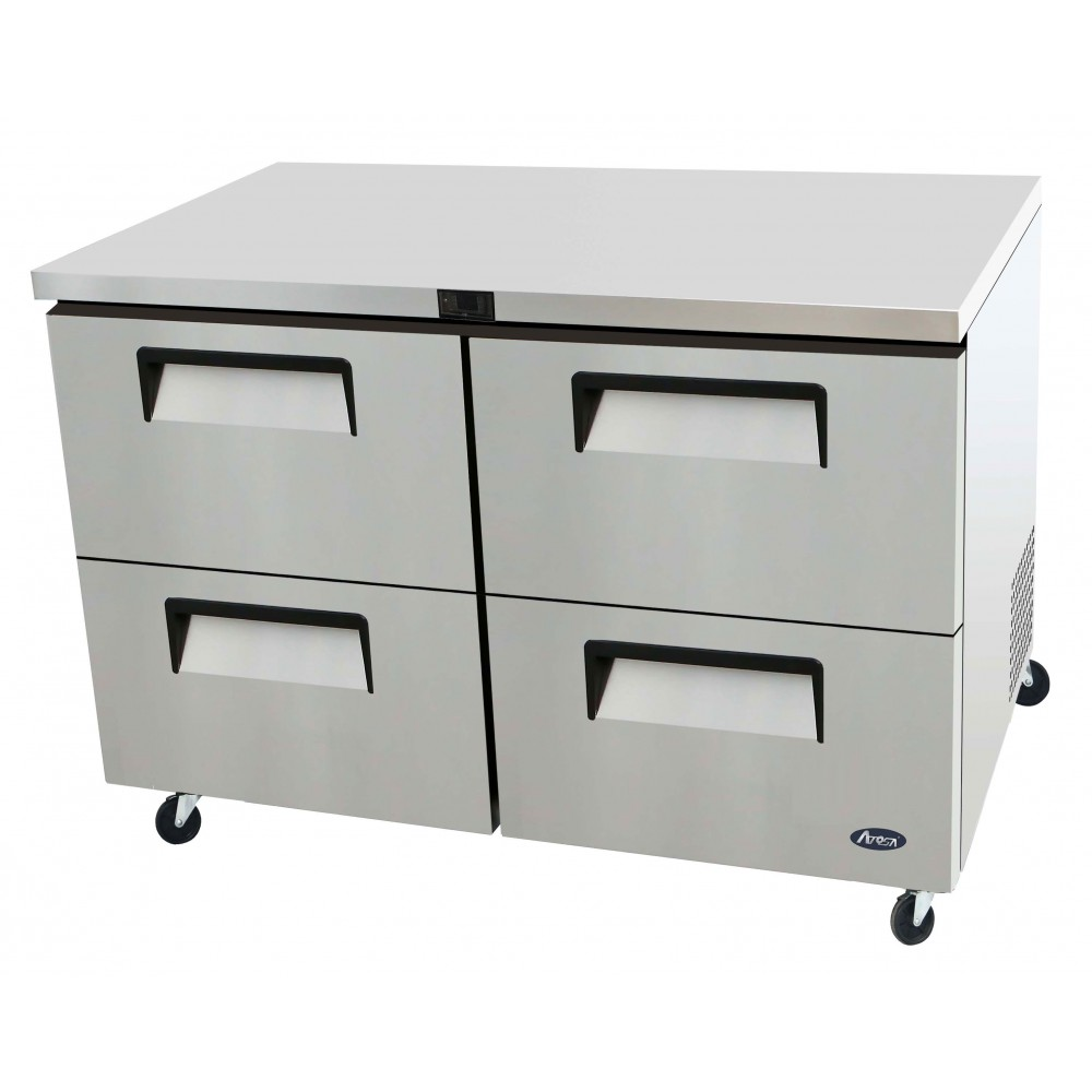 48'' Four-Drawer Undercounter Refrigerator                        Dimensions:48.2 * 30* 36.5