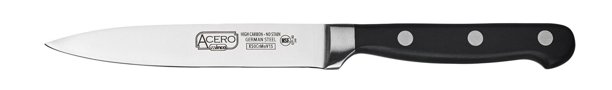 "Winco KFP-50 Utility Knife 5"""