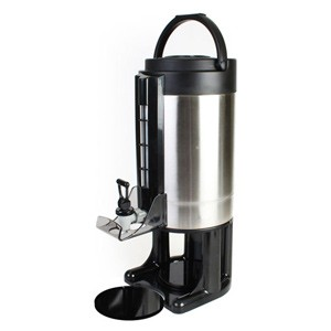 Thunder Group ASGD057 Gravity Flow Dispenser with Brew-Thru Lid 1.5 Gallon