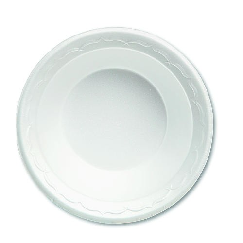 5 Oz Celebrity Foam Bowl Foam-White