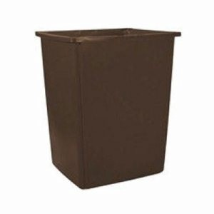 56 Gallon Trash Container, Brown