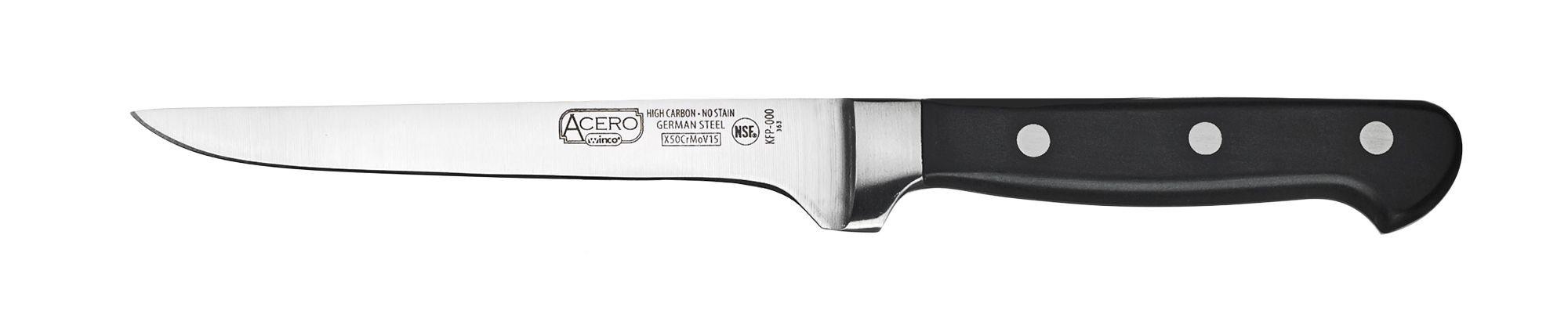"Winco KFP-61 Boning Knife 6"""