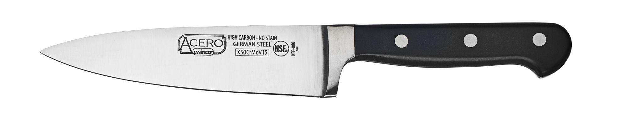 "Winco KFP-60 Chef Knife 6"""