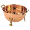 "Old Dutch International 870 Decor Copper Berry 6"" Colander"