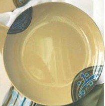 "Yanco jp-1006 Japanese 6"" Round Plate"