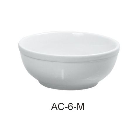 "Yanco AC-6-M Abco 6"" Salad Bowl"
